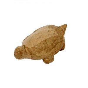 Hobbyfun Papier-maché Schildpad 4,5x13 cm.