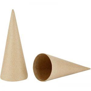 Hobbyfun Kegels, h:20cm, d:8cm, 5st.