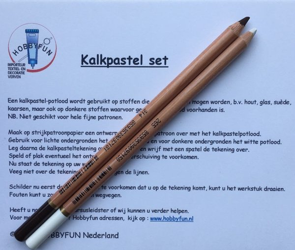 Hobbyfun Kalkpastel potloden