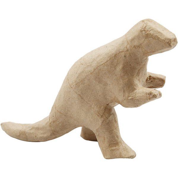 Hobbyfun Papier-maché Dinosaurussen, 9-12x4-5cm, 21st