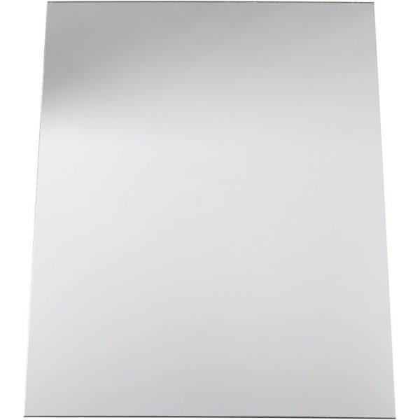 Spiegelplaat zilverkleurig