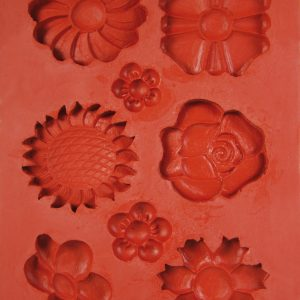 Hobbyfun siliconen mal bloemen 53.233