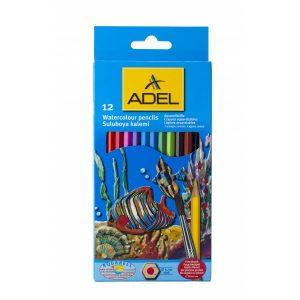 Aquarel potloden 12 stuks