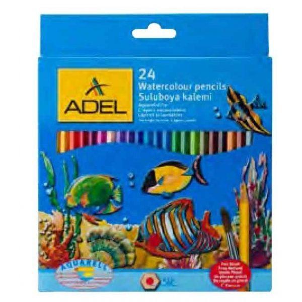 Aquarel potloden 24 stuks