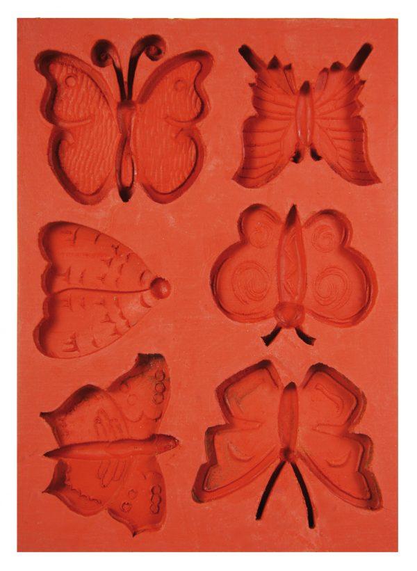 Hobbyfun Siliconen mal vlinders 53.232