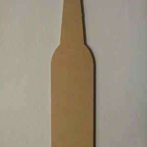 1065 Fles, mdf, 30 x 10 cm.