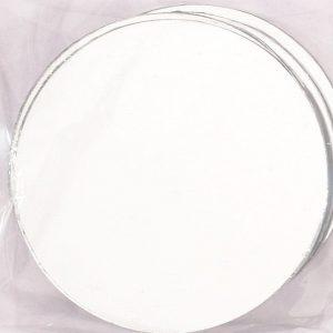 Hobbyfun Ronde spiegels 5 cm. doorsnee, 4 stuks