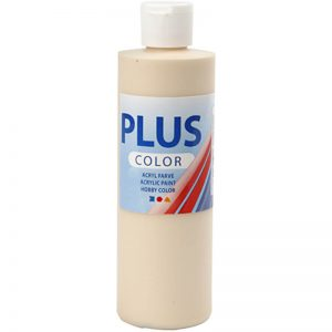 Hobbyfun Plus Color acrylverf, fleshtone light, 250 ml