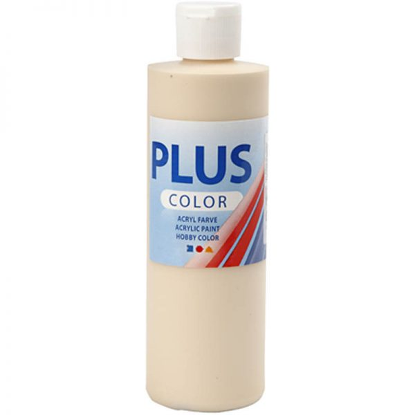 Hobbyfun Plus Color acrylverf, fleshtone light, 250 ml
