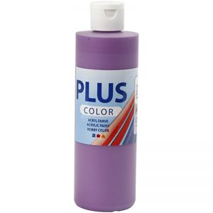 Hobbyfun Plus Color acrylverf, dark lilac, 250 ml.