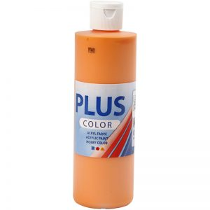 Hobbyfun Plus Color acrylverf, pumpkin, 250 ml