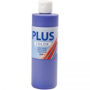 Hobbyfun Plus Color acrylverf, ultra marine, 250 ml.