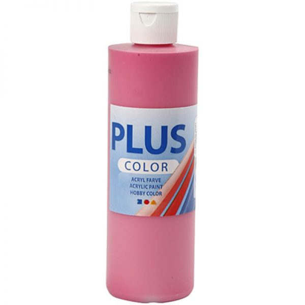 Hobbyfun Plus Color acrylverf, fuchsia, 250 ml