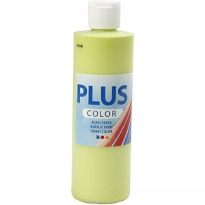 Hobbyfun Plus Color acrylverf, lime green, 250 ml