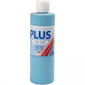 Hobbyfun Plus Color acrylverf, turquoise, 250 ml