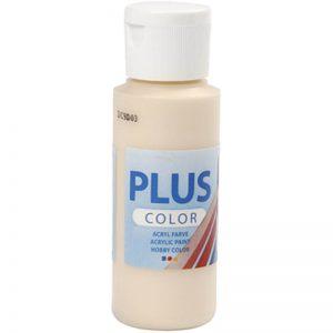 Hobbyfun Plus Color acrylverf, fleshtone light, 60 ml.