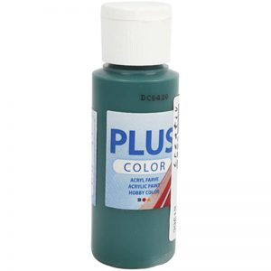 Hobbyfun Plus Color acrylverf, dark green, 60 ml