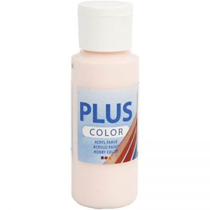 Hobbyfun Plus Color acrylverf, pale rose, 60 ml