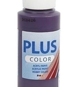 Hobbyfun Plus Color acrylverf, aubergine, 60 ml