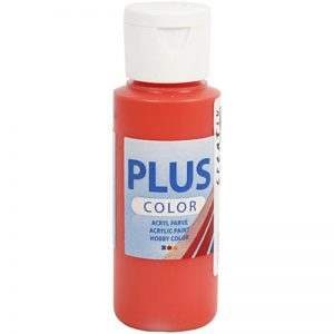 Hobbyfun Plus Color acrylverf, brilliant red, 60 ml