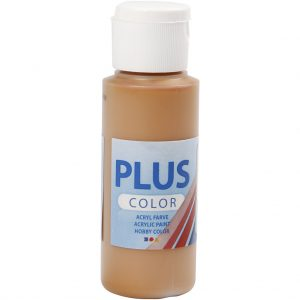 Hobbyfun Plus Color acrylverf, raw sienna, 60 ml