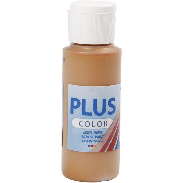 Hobbyfun Plus Color acrylverf, raw sienna, 60 ml