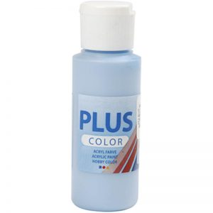 Hobbyfun Plus Color acrylverf, sky blue, 60 ml