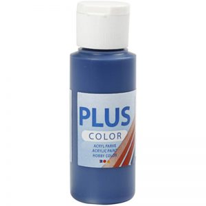 Hobbyfun Plus Color acrylverf, navy blue, 60 ml