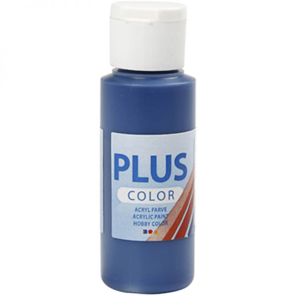 Hobbyfun Plus Color acrylverf, navy blue, 60 ml