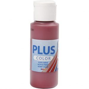 Hobbyfun Plus Color acrylverf, antique red, 60 ml