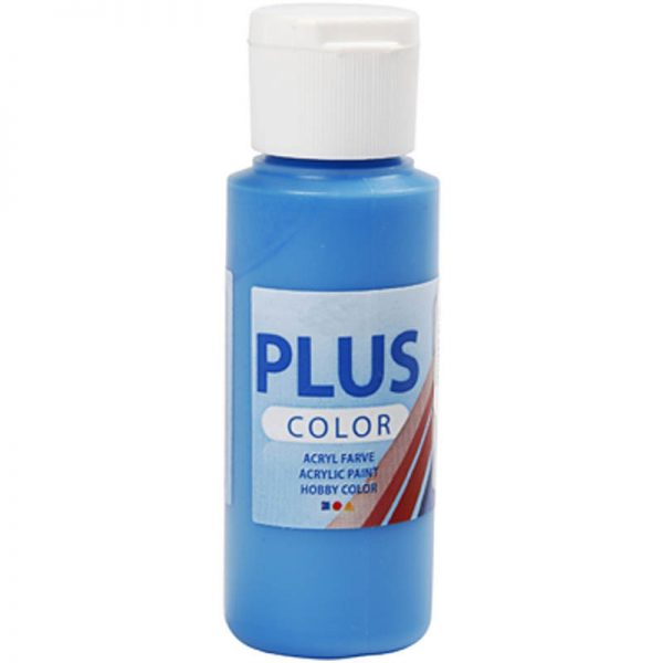 Hobbyfun Plus Color acrylverf, primary blue, 60 ml