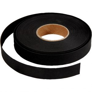 Hobbyfun Faux Leather band, zwart
