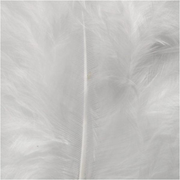 Hobbyfun Veren, afm 5-12cm, wit.