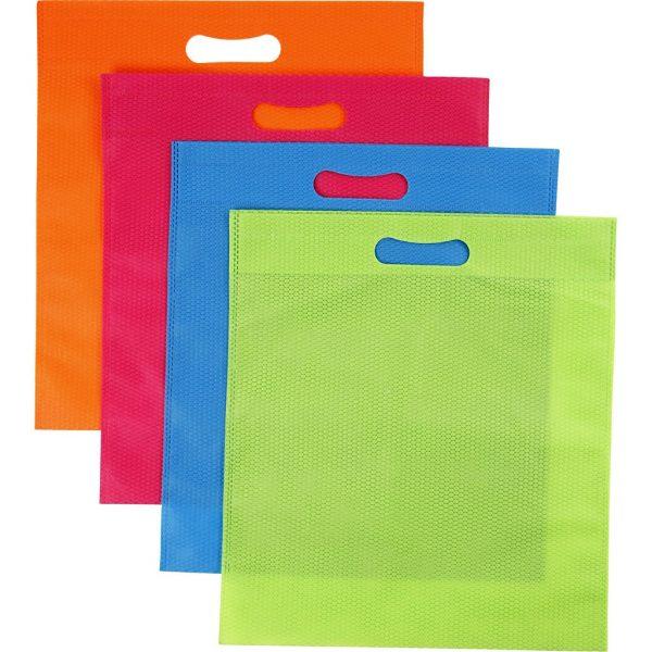 Hobbyfun Multi-tas, 4 kleuren, b: 31 cm, h: 35 cm.
