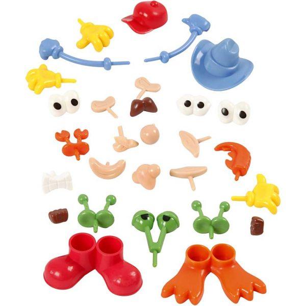 Hobbyfun Foam Clay®, Lichaamsdelen