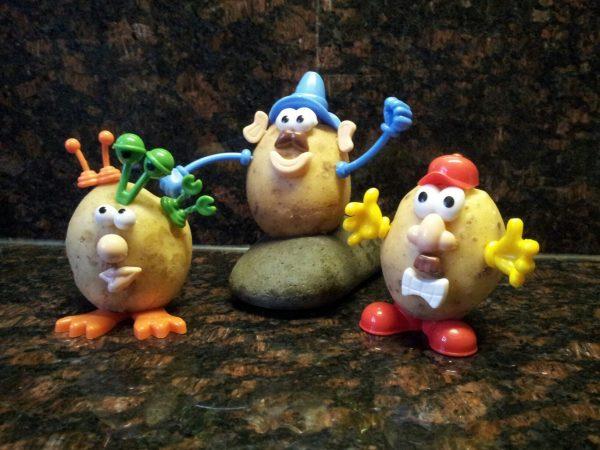 Hobbyfun Foam Clay®, Lichaamsdelen in aardappel