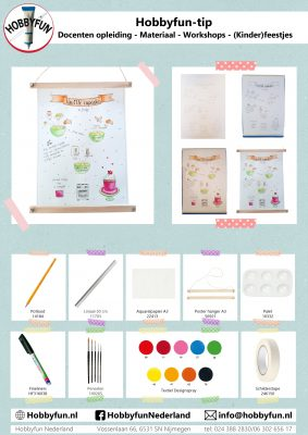 Hobbyfun-tip: poster maken