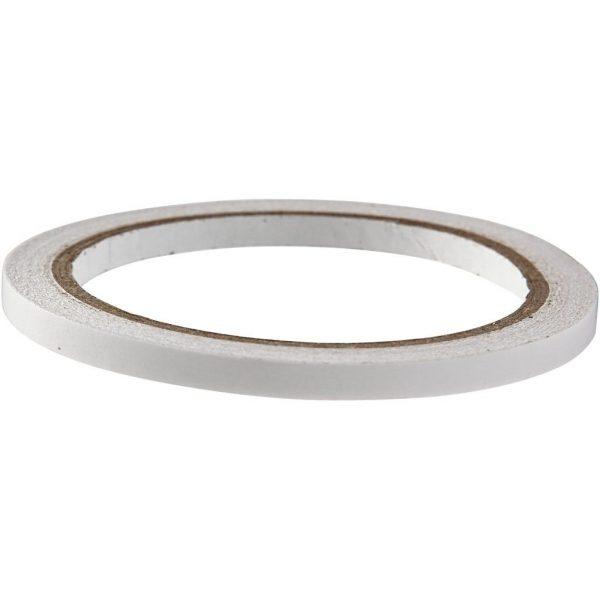 Hobbyfun Dubbelzijdigklevend tape, b:6mm, 10m.