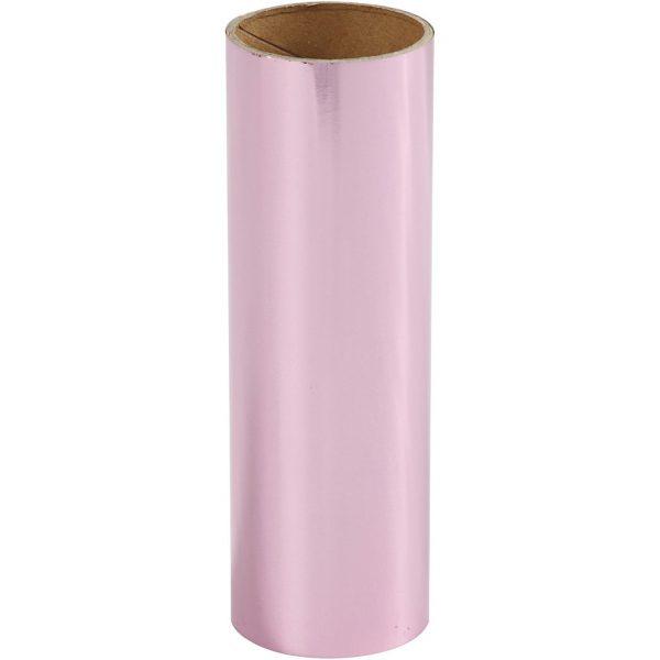 Hobbyfun Decoratiefolie, roze, rol15,5x50cm