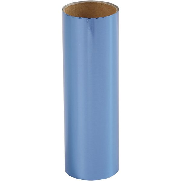 Hobbyfun Decoratiefolie, donkerblauw, rol15,5x50cm