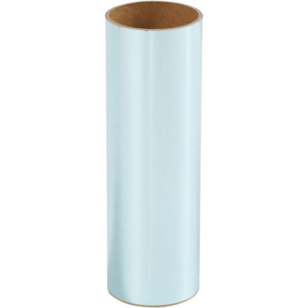 Hobbyfun Decoratiefolie, lichtblauw, rol15,5x50cm