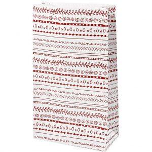 Hobbyfun Blokbodem zakken, doodles, 6x12 cm, h: 21 cm, 8st.