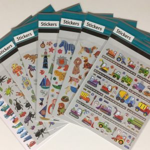 Hobbyfun Sticker set, 8 stuks
