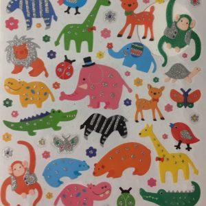 Hobbyfun Fancy stickers, beesten