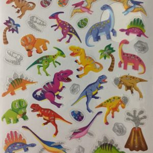 Hobbyfun Fancy stickers, dino's