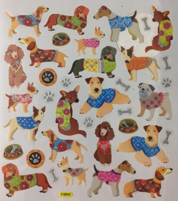 Hobbyfun Fancy stickers, honden