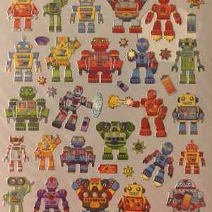 Hobbyfun Fancy stickers, robots
