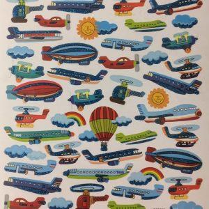 Hobbyfun Fancy stickers, luchtvaart