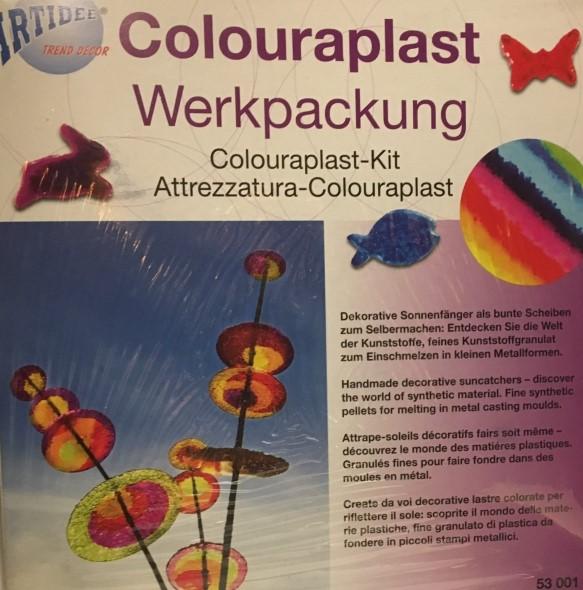 53.001 Hobbyfun Colouraplast smeltgranulaat werkset