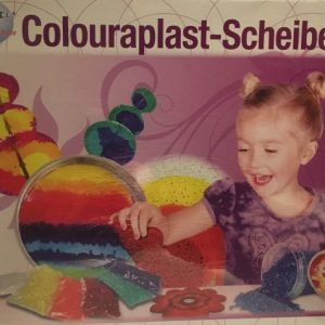 53.009 Hobbyfun Colouraplast smeltgranulaat set hart